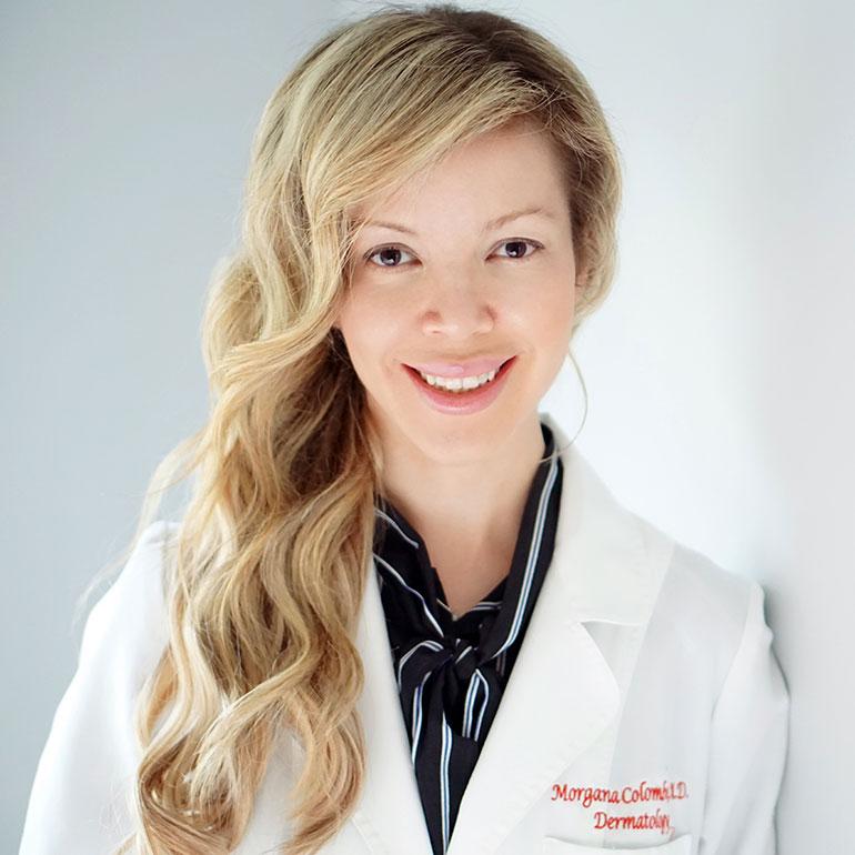 best dermatologist dr. morgana colombo
